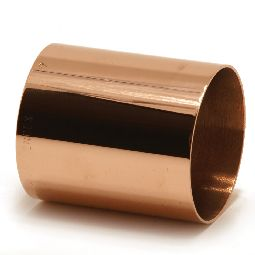 Straight coupling, copper x copper