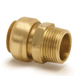 image for T3T/T243G Straight male connector.