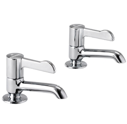 image for Basin pillar tap, long nose