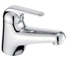 image for Loko Single Lever Basin Mixer (inc Click-waste)