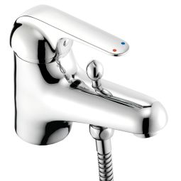 image for Loko Single Lever Bath Shower Mixer with Shower Kit