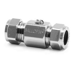image for CxC Chrome Screw Driver Slot Ball valve