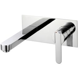 image for Strata Wall Mounted Basin Mixer (inc Click-waste)