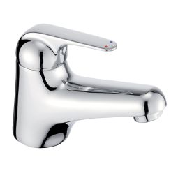 image for Loko Single Lever Mini Basin Mixer (inc Click-waste)