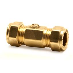 image for CxC Brass Screw Driver Slot Ball valve