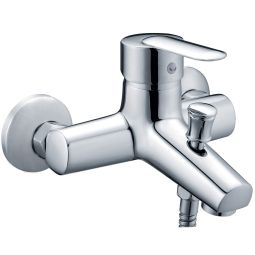 image for Bahama Wall Mounted Bath Shower Mixer with Shower Kit