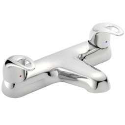image for Izzi Dual Control Deck Mounted Bath Filler