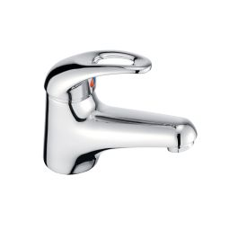 image for Izzi Single Lever Mini Basin Mixer (inc Click-waste)