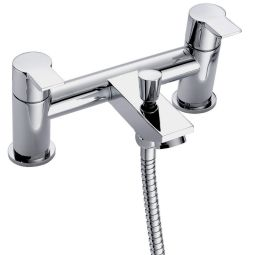 image for Storm Pillar Pattern Bath Shower Mixer with Shower Kit