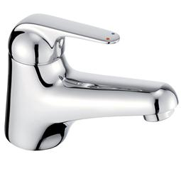 image for Loko Single Lever Water Saving Basin Mixer (inc Click-waste)