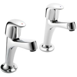 image for Haze High Neck Kitchen Taps (Pair)