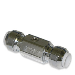 image for Screwdriver slot push-fit ball valve