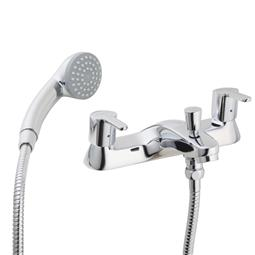 image for Araya Deck Mounted Dual Control Bath Shower Mixer