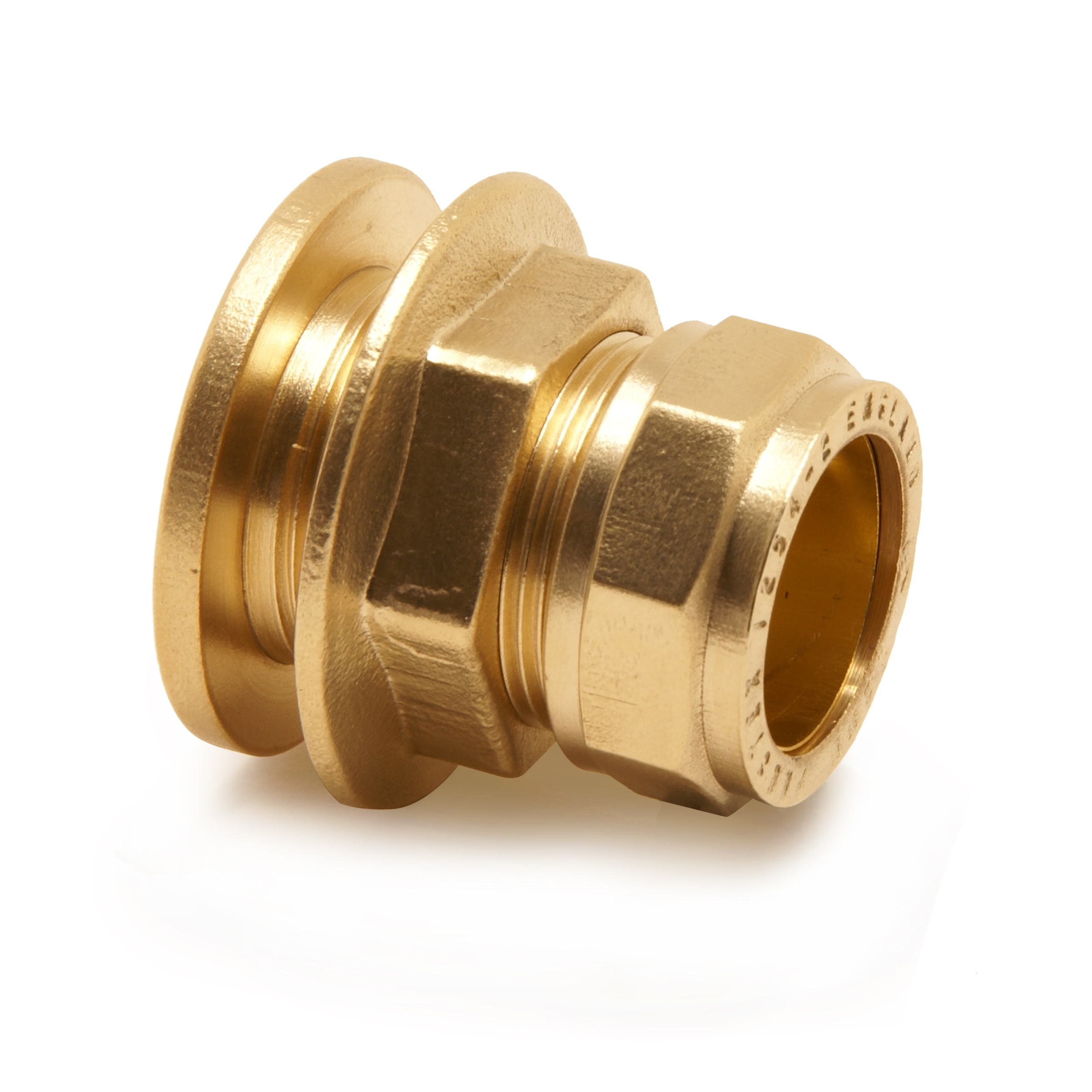 BRASS Tee reduced end & Branch compression pipe fitting ...