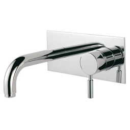 image for Visio Wall Mounted Basin Mixer (inc Click-waste)