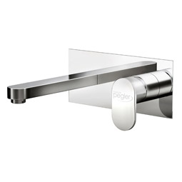 image for Strata Blade Wall Mounted Basin Mixer (inc Click-waste)