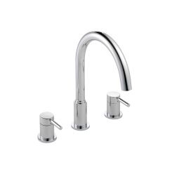 image for Visio 3-Hole Deck Mounted Bath Filler