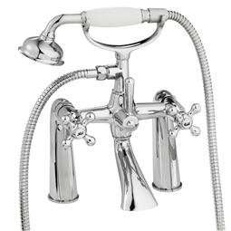 image for Souvenir Pillar Bath Shower Mixer With Shower Kit