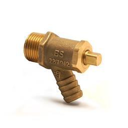 image for 833 Brass Drain cock