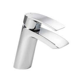 image for Waterfall Mono Basin Mixer with Click Waste