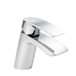 image for Waterfall Mini Mono Basin Mixer with Click Waste