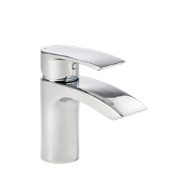 image for Lamina Mini Mono Basin Mixer with Click Waste