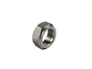 Compression nut, for type A joints. Chrome plated