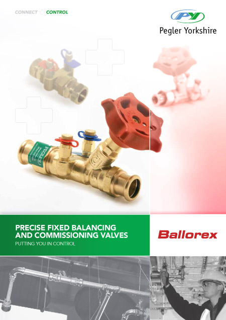 Fixed Balancing and Commissioning Valves