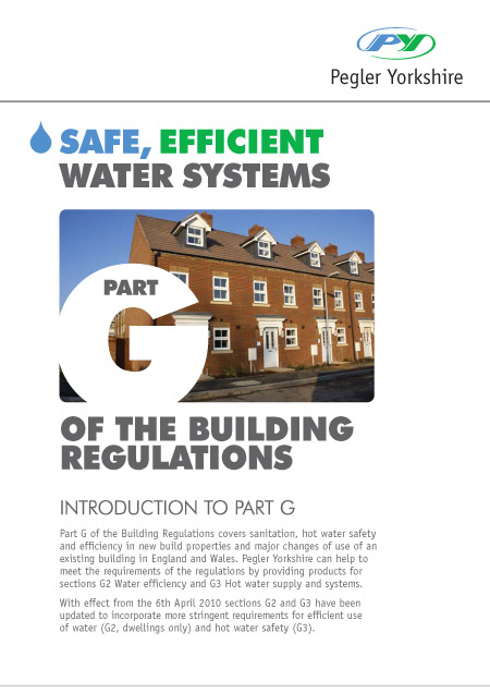 Part G Safe, Efficient Water Systems