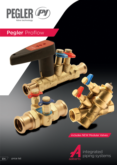 Pegler Proflow Price List January 2021