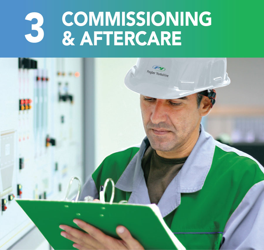 Commissioning and aftercare